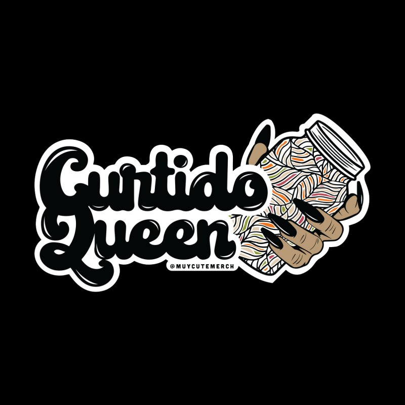Curtido Queen Men's T-Shirt by Muy Cute Camisa Shop