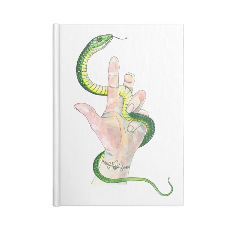 Snake Handler Accessories Blank Journal Notebook by mwashburnart's Artist Shop