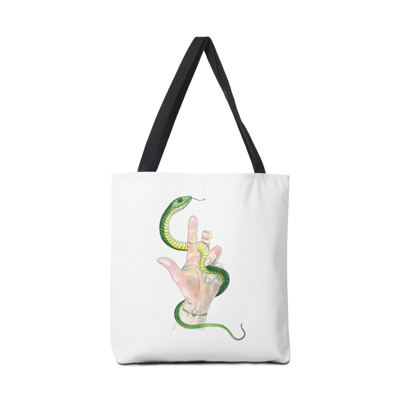 Snake Handler Accessories Tote Bag Bag by mwashburnart's Artist Shop