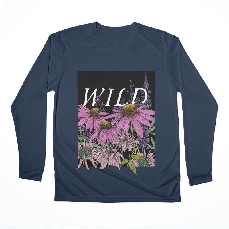 WILD Women's Performance Unisex Longsleeve T-Shirt by mwashburnart's Artist Shop