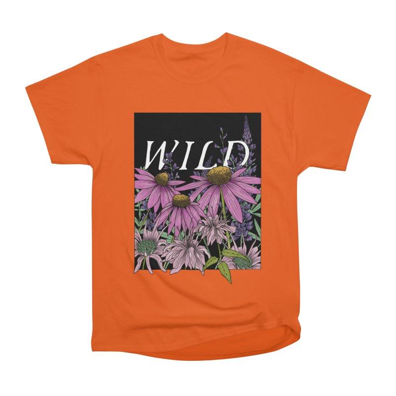 WILD Men's T-Shirt by mwashburnart's Artist Shop