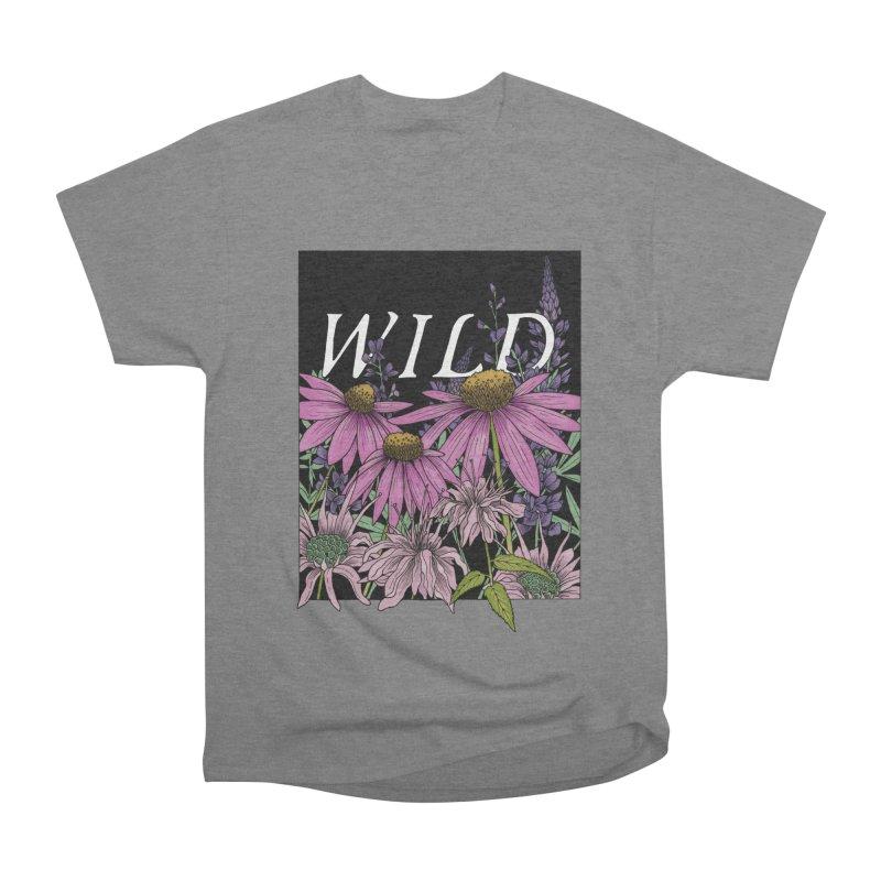 WILD Women's Heavyweight Unisex T-Shirt by mwashburnart's Artist Shop