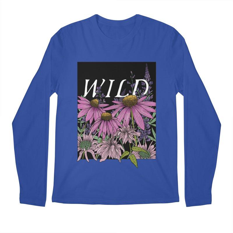 WILD Men's Regular Longsleeve T-Shirt by mwashburnart's Artist Shop