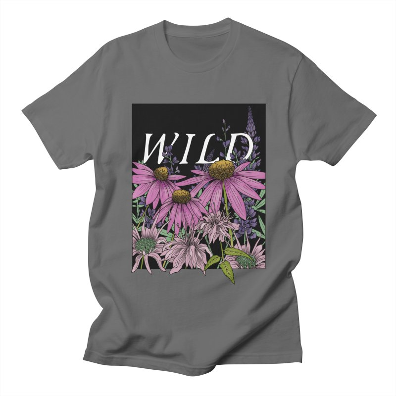 WILD Men's T-Shirt by mwashburnart's Artist Shop