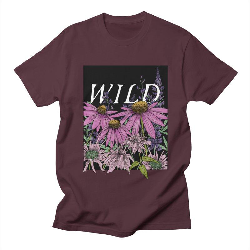WILD Women's Regular Unisex T-Shirt by mwashburnart's Artist Shop
