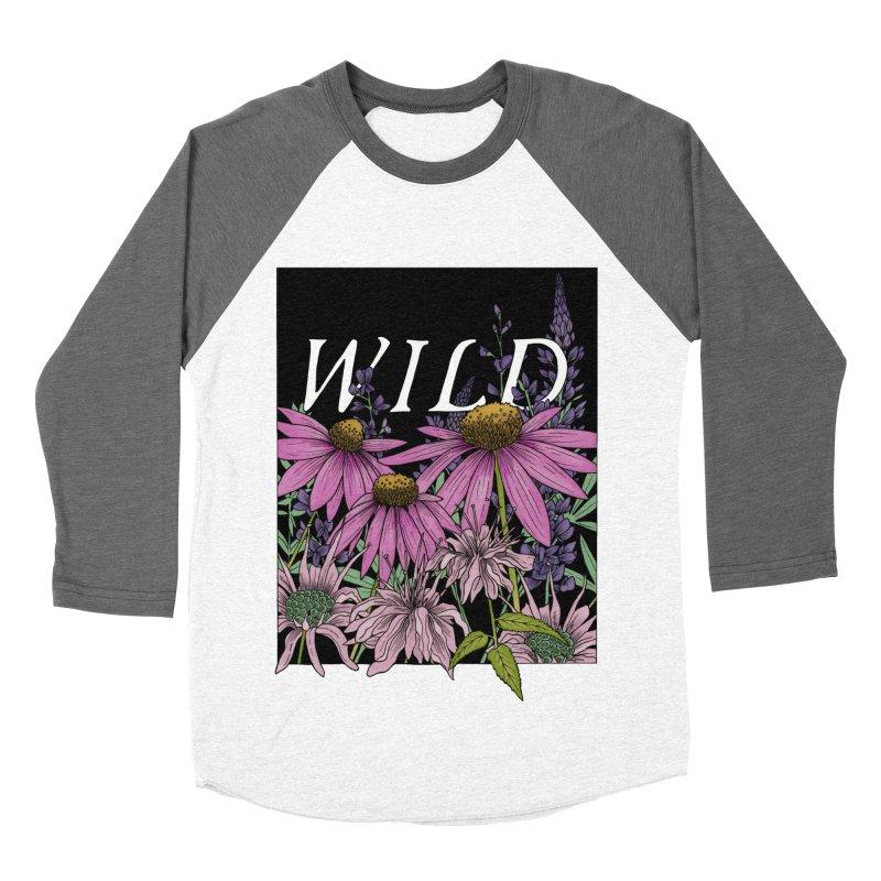 WILD Women's Baseball Triblend Longsleeve T-Shirt by mwashburnart's Artist Shop