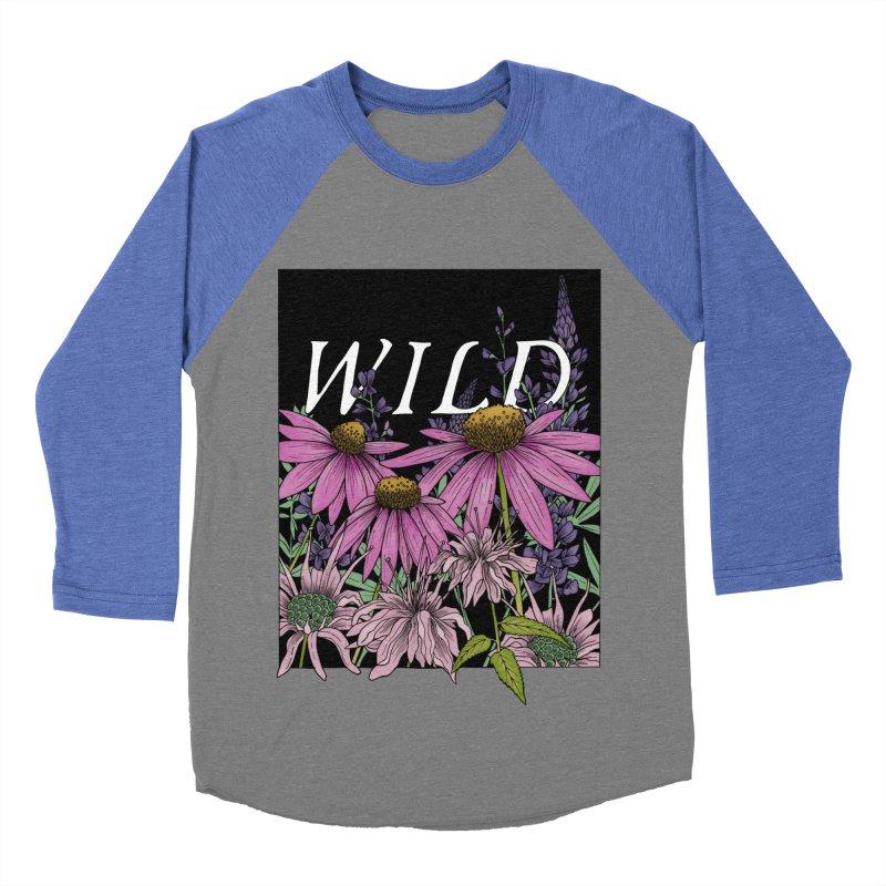 WILD Men's Baseball Triblend Longsleeve T-Shirt by mwashburnart's Artist Shop