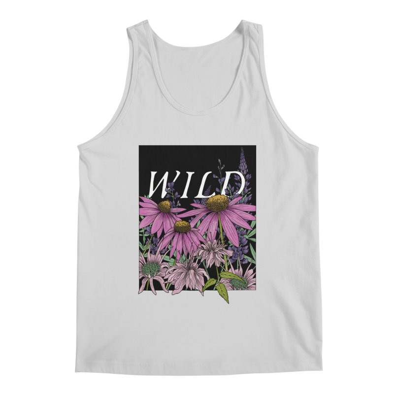 WILD Men's Regular Tank by mwashburnart's Artist Shop