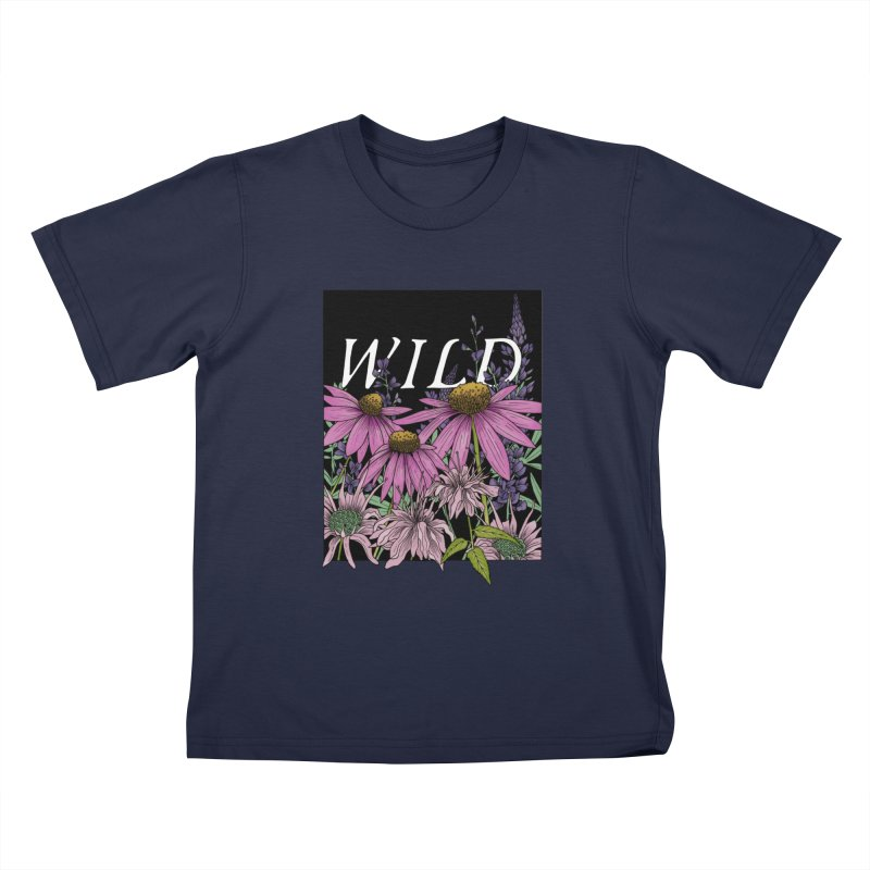 WILD Kids T-Shirt by mwashburnart's Artist Shop