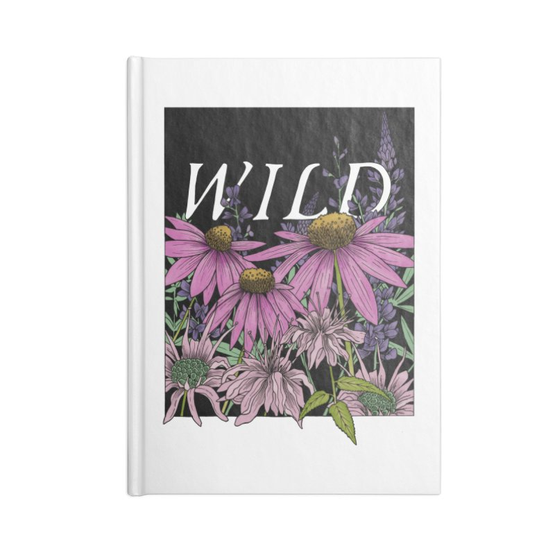 WILD Accessories Lined Journal Notebook by mwashburnart's Artist Shop