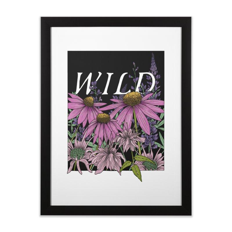 WILD Home Framed Fine Art Print by mwashburnart's Artist Shop