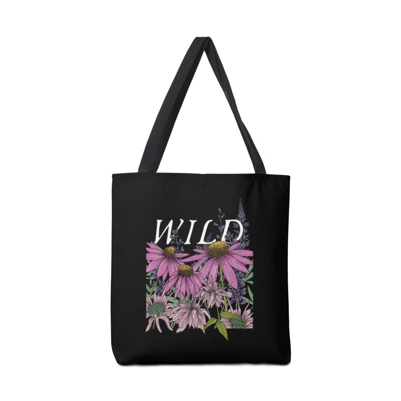 WILD Accessories Tote Bag Bag by mwashburnart's Artist Shop