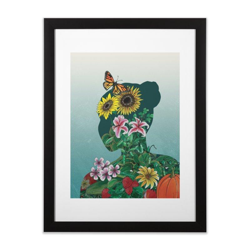 GROW in Framed Fine Art Print Black by mwashburnart's Artist Shop
