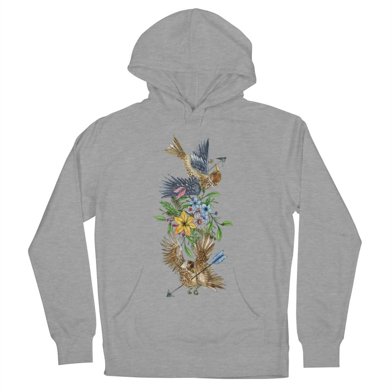 Kill the Messengers Women's French Terry Pullover Hoody by mwashburnart's Artist Shop