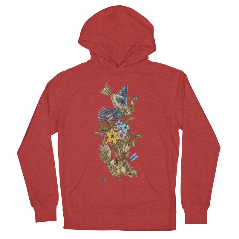 Kill the Messengers Men's French Terry Pullover Hoody by mwashburnart's Artist Shop