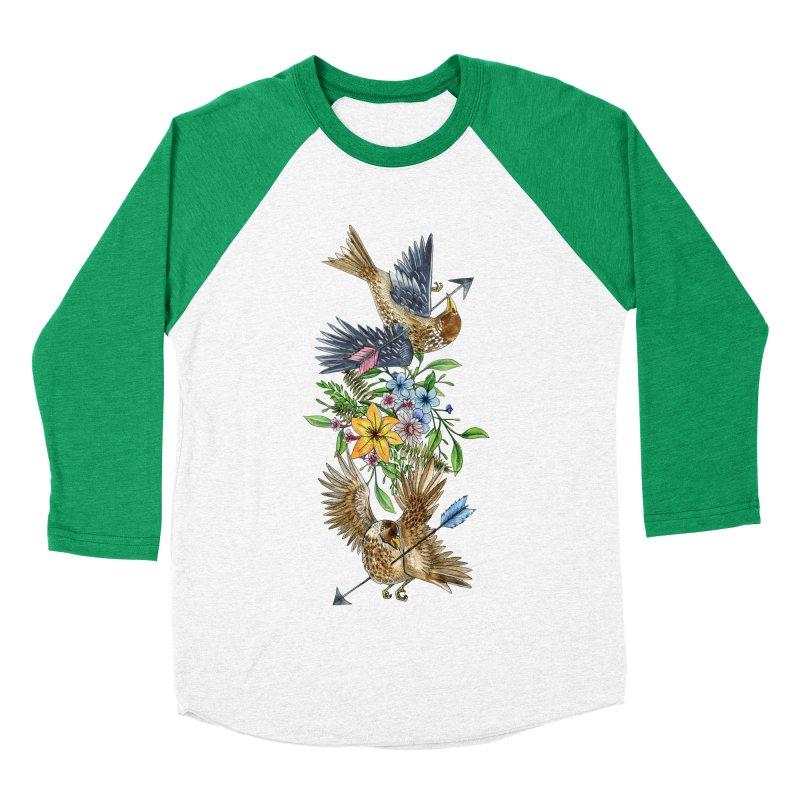 Kill the Messengers Women's Baseball Triblend Longsleeve T-Shirt by mwashburnart's Artist Shop
