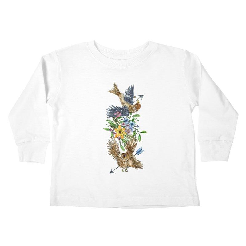 Kill the Messengers Kids Toddler Longsleeve T-Shirt by mwashburnart's Artist Shop