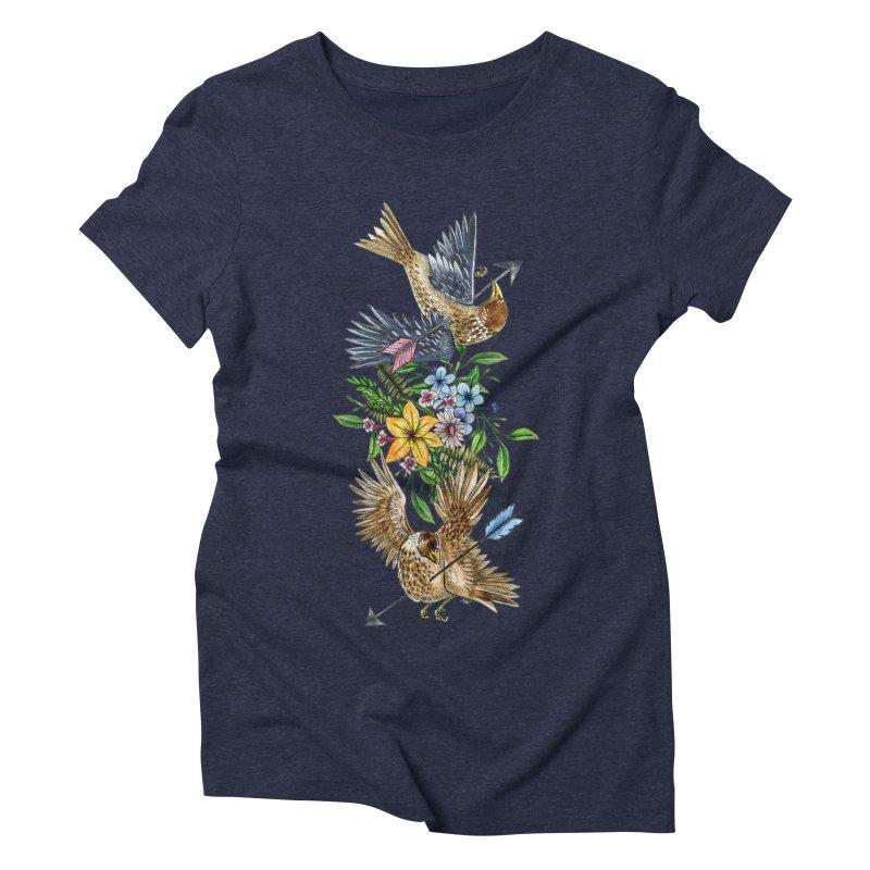 Kill the Messengers Women's Triblend T-Shirt by mwashburnart's Artist Shop