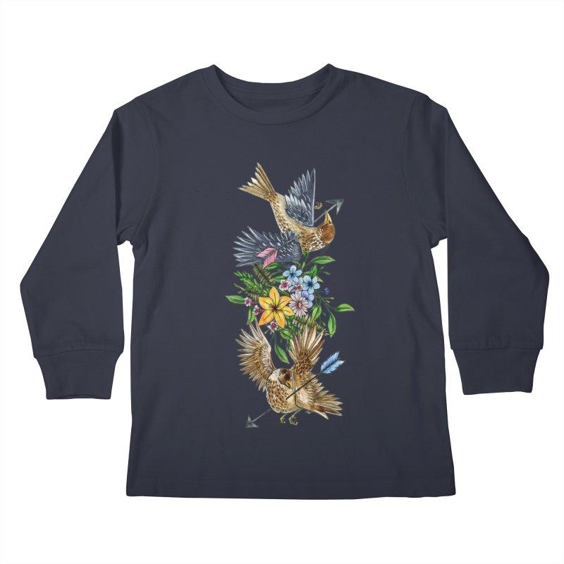 Kill the Messengers Kids Longsleeve T-Shirt by mwashburnart's Artist Shop