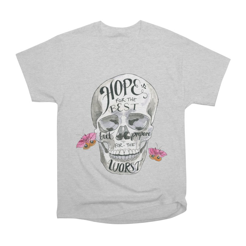 Hope for the Best Men's Heavyweight T-Shirt by mwashburnart's Artist Shop