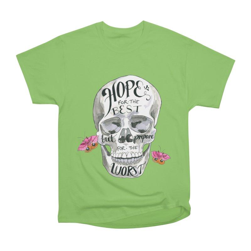 Hope for the Best Men's Heavyweight T-Shirt by mwashburnart's Artist Shop
