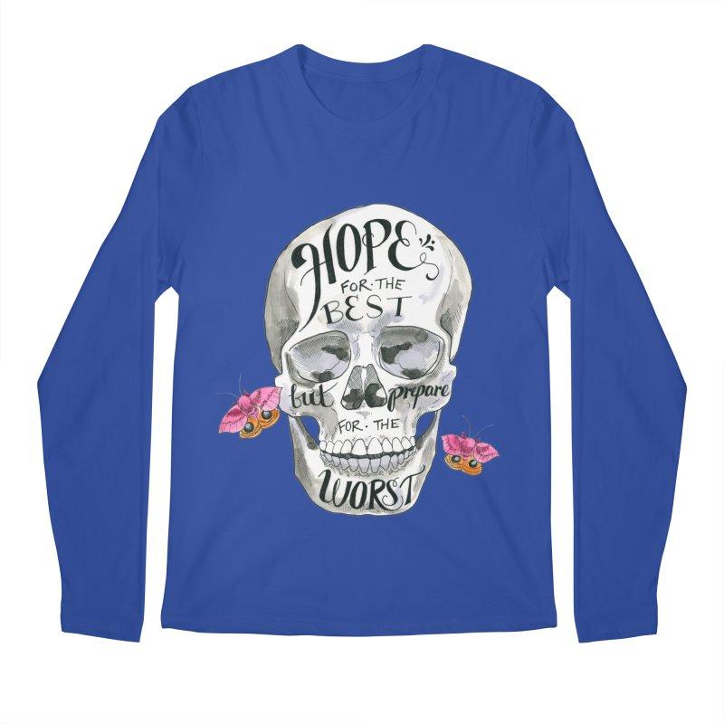 Hope for the Best Men's Regular Longsleeve T-Shirt by mwashburnart's Artist Shop
