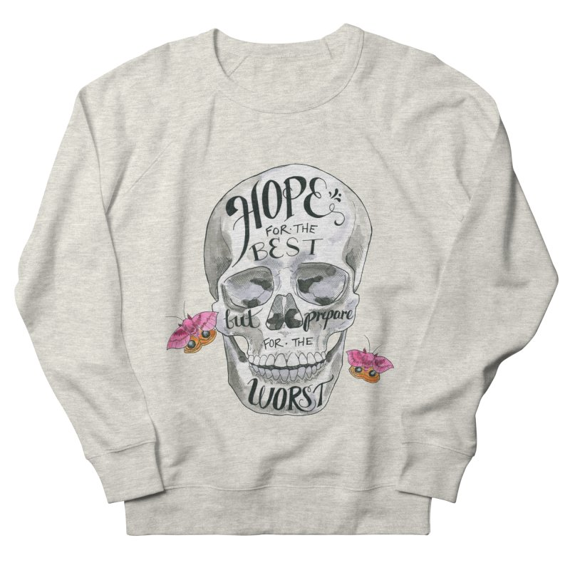 Hope for the Best Men's French Terry Sweatshirt by mwashburnart's Artist Shop