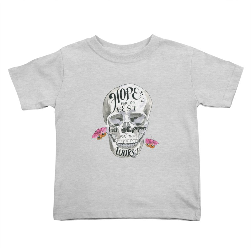 Hope for the Best Kids Toddler T-Shirt by mwashburnart's Artist Shop