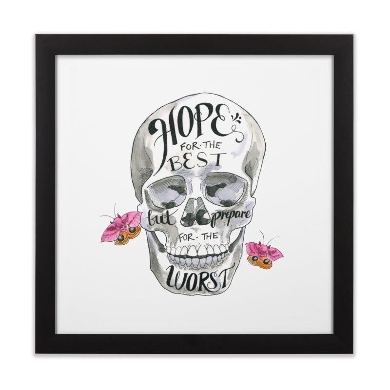 Hope for the Best Home Framed Fine Art Print by mwashburnart's Artist Shop