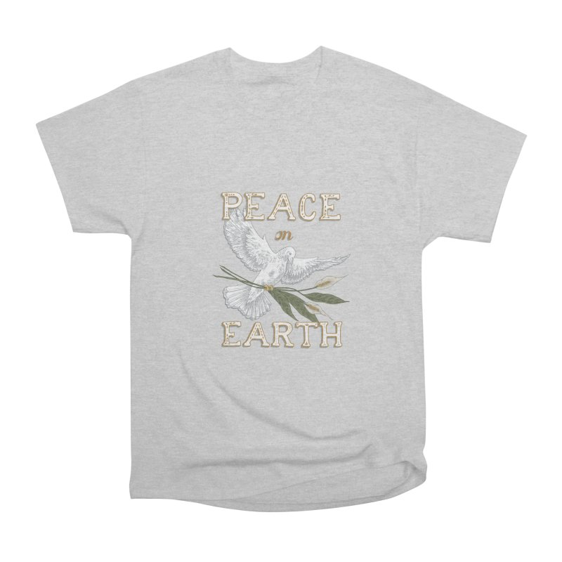 Peace Dove Men's Heavyweight T-Shirt by mwashburnart's Artist Shop