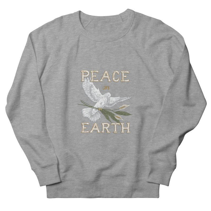 Peace Dove Women's French Terry Sweatshirt by mwashburnart's Artist Shop