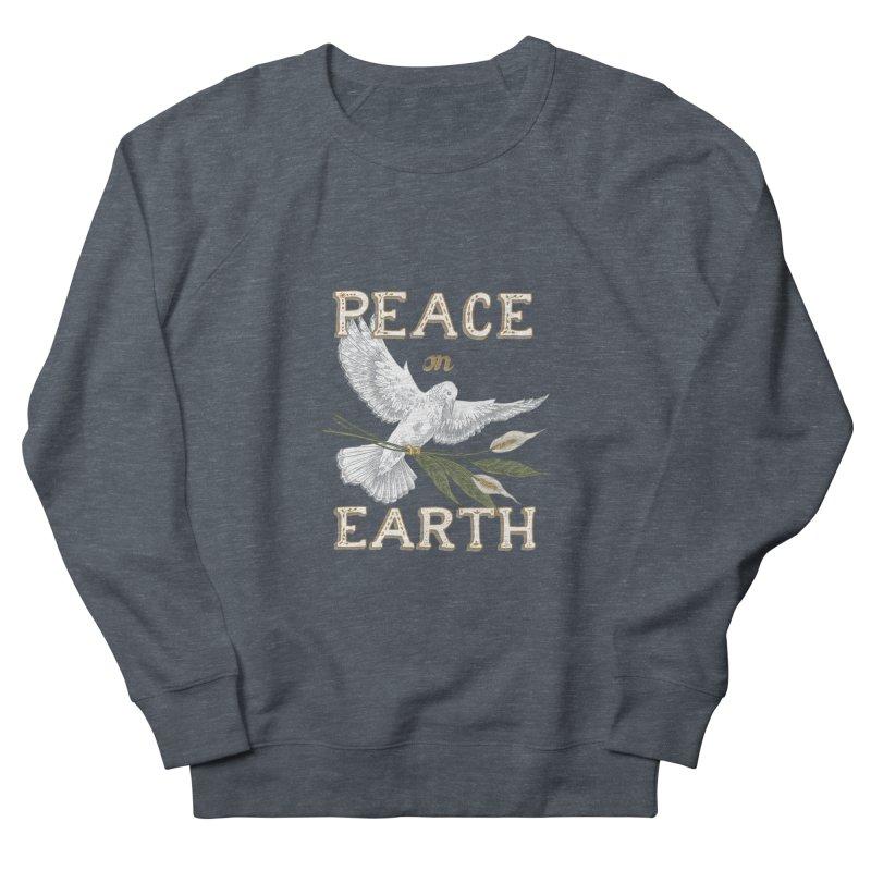 Peace Dove Men's French Terry Sweatshirt by mwashburnart's Artist Shop