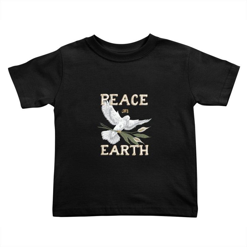 Peace Dove Kids Toddler T-Shirt by mwashburnart's Artist Shop