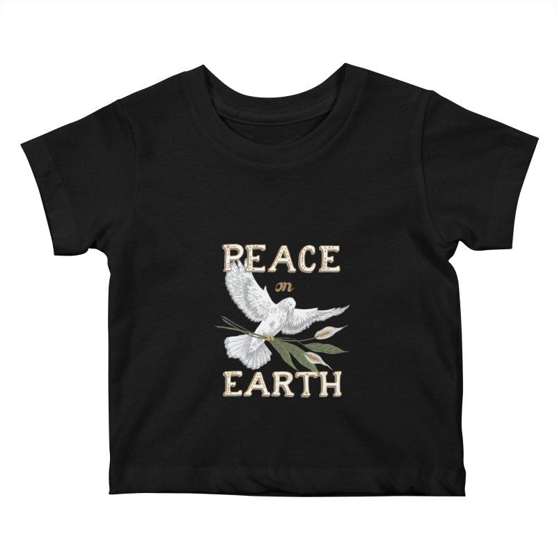 Peace Dove Kids Baby T-Shirt by mwashburnart's Artist Shop
