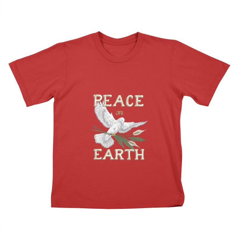 Peace Dove Kids T-Shirt by mwashburnart's Artist Shop