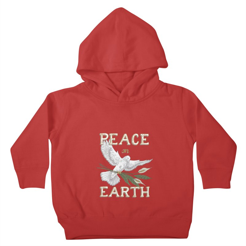 Peace Dove Kids Toddler Pullover Hoody by mwashburnart's Artist Shop