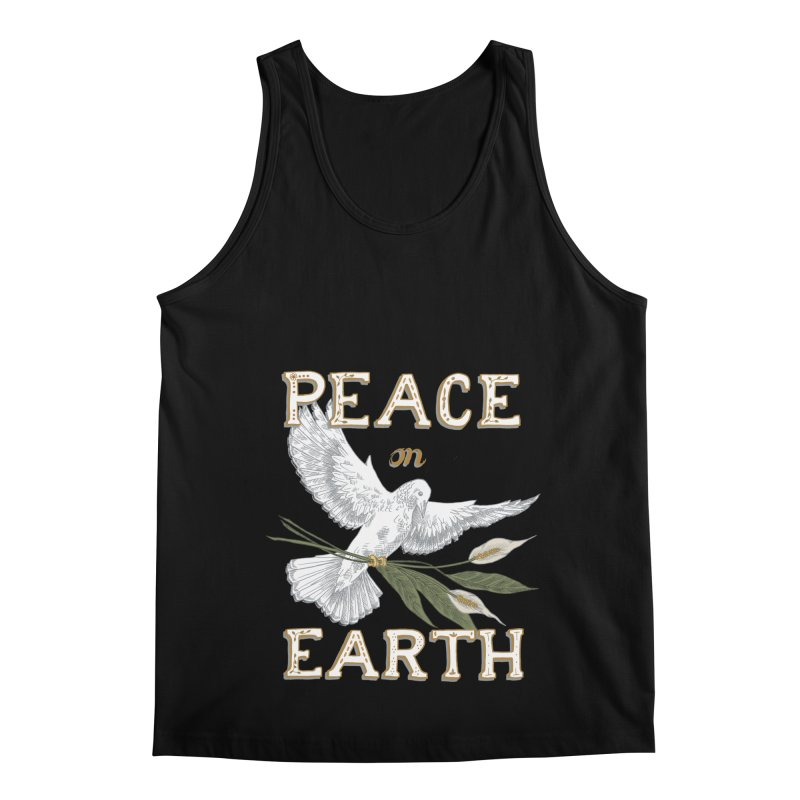 Peace Dove Men's Regular Tank by mwashburnart's Artist Shop