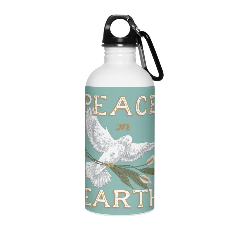 Peace Dove Accessories Water Bottle by mwashburnart's Artist Shop