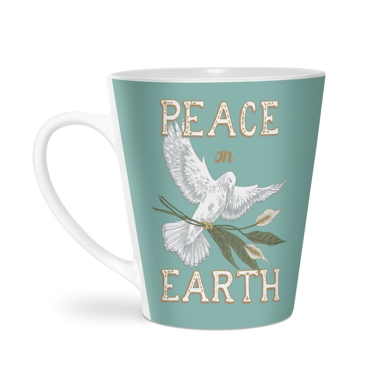 Peace Dove Accessories Latte Mug by mwashburnart's Artist Shop