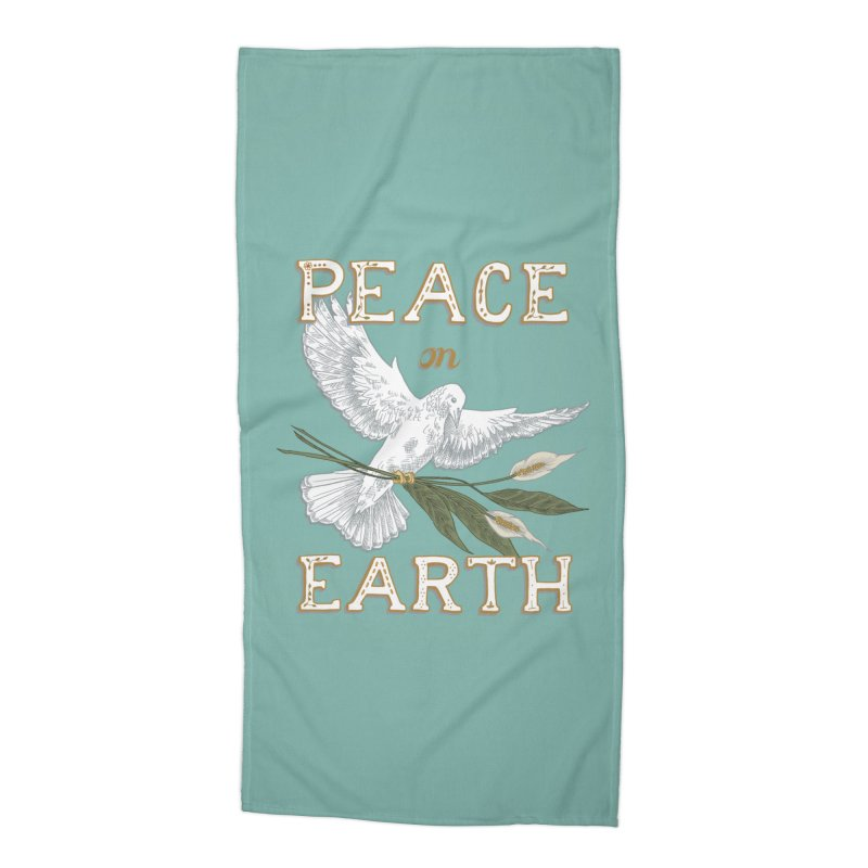 Peace Dove Accessories Beach Towel by mwashburnart's Artist Shop