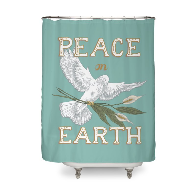 Peace Dove Home Shower Curtain by mwashburnart's Artist Shop