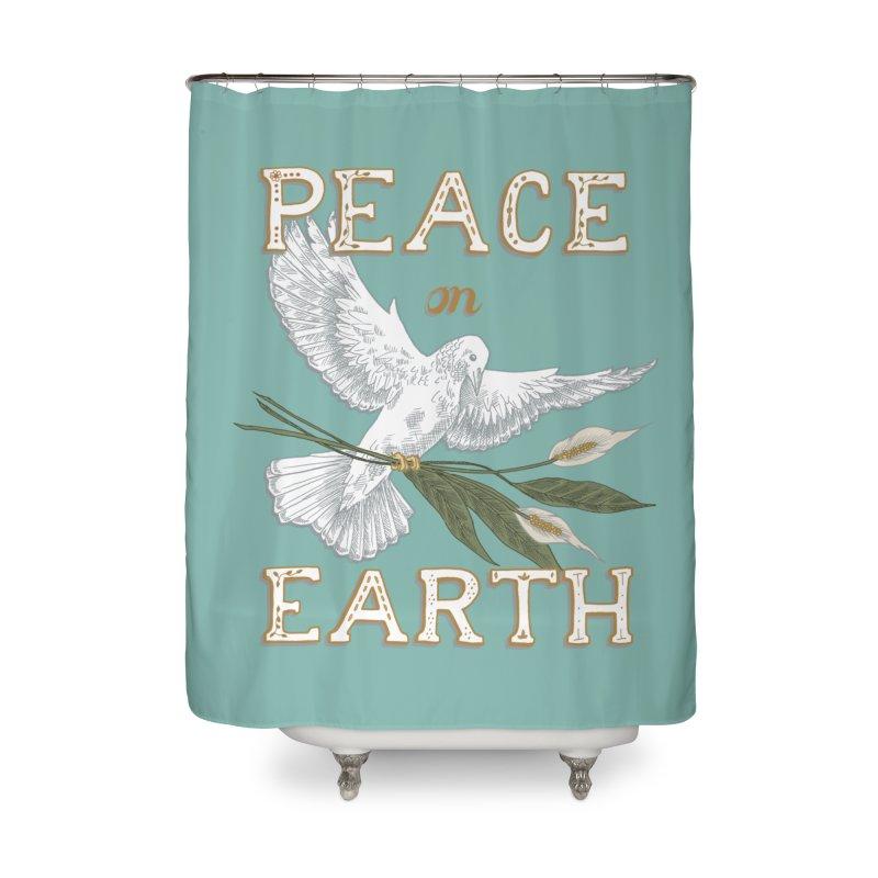 Peace Dove Home Shower Curtain by mwashburnart's Artist Shop