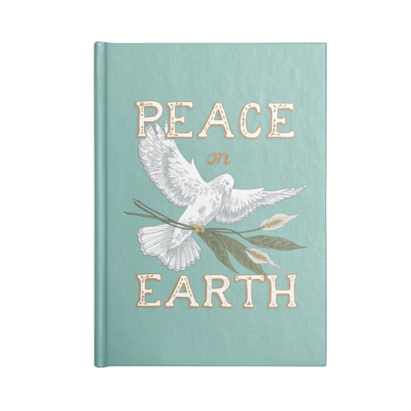 Peace Dove Accessories Lined Journal Notebook by mwashburnart's Artist Shop