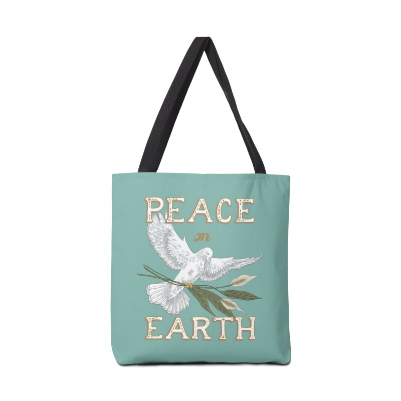 Peace Dove Accessories Tote Bag Bag by mwashburnart's Artist Shop