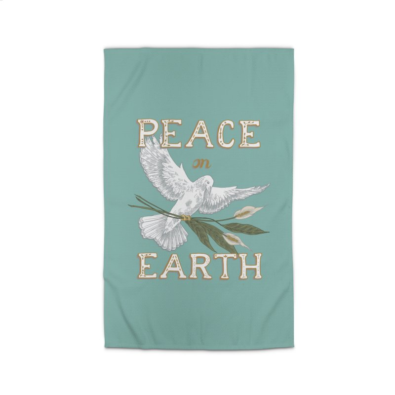 Peace Dove Home Rug by mwashburnart's Artist Shop