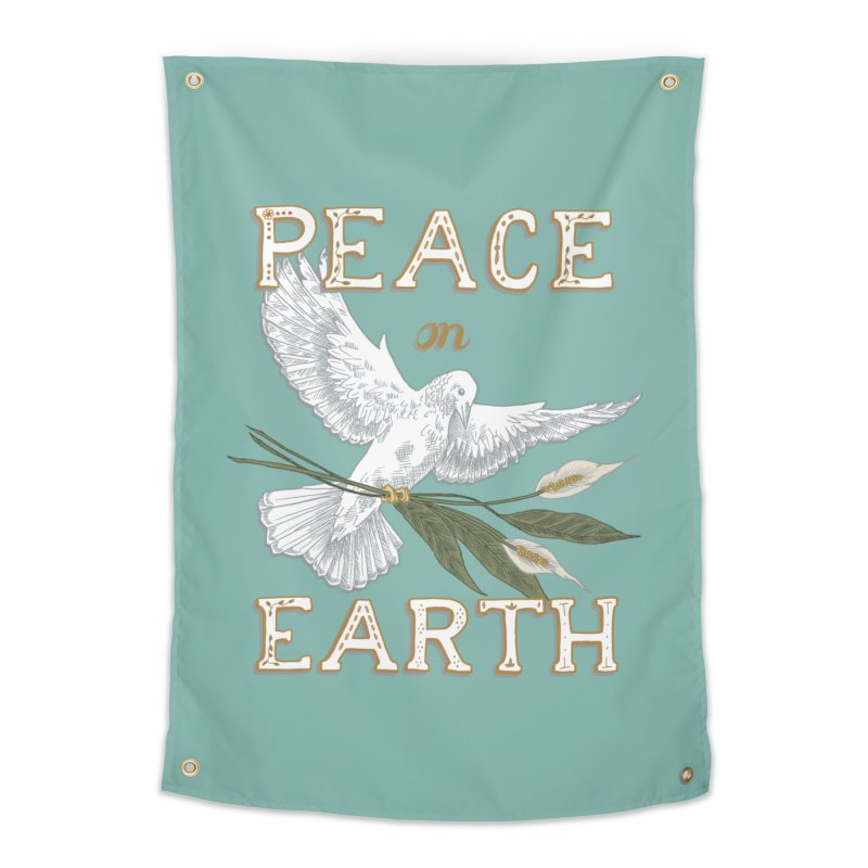 Peace Dove Home Tapestry by mwashburnart's Artist Shop