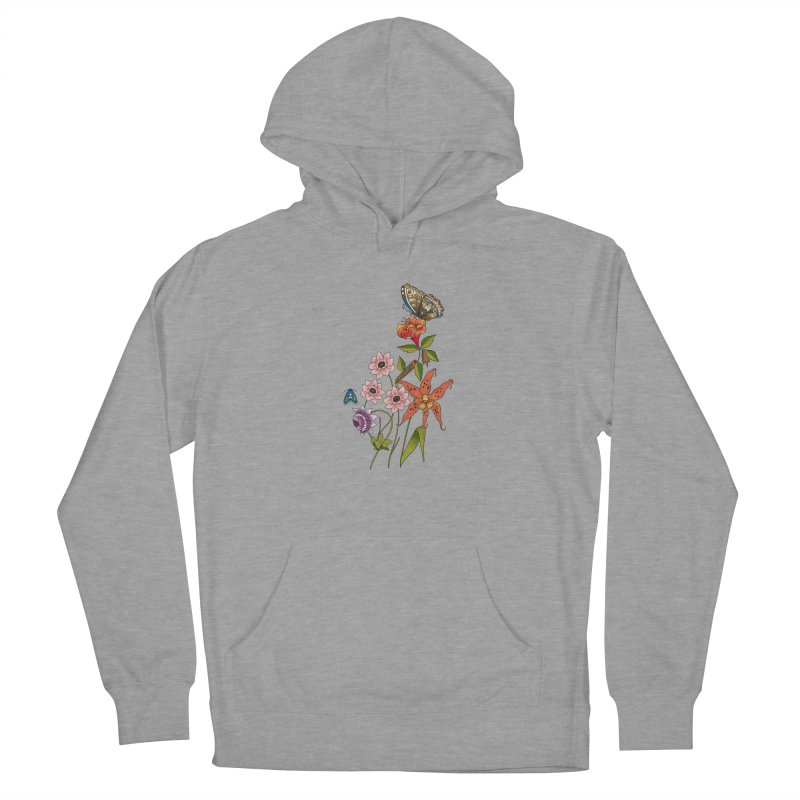 Natural History Men's French Terry Pullover Hoody by mwashburnart's Artist Shop