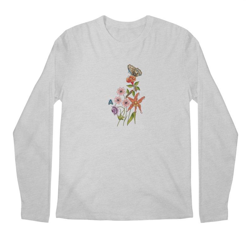 Natural History Men's Regular Longsleeve T-Shirt by mwashburnart's Artist Shop
