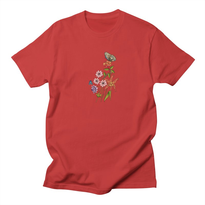Natural History Men's Regular T-Shirt by mwashburnart's Artist Shop