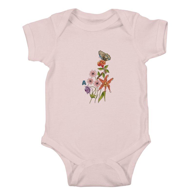 Natural History Kids Baby Bodysuit by mwashburnart's Artist Shop